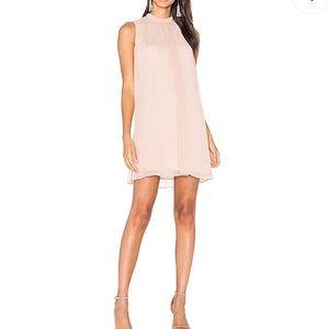 Wayf blush dress